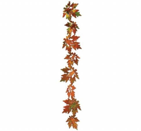 3-D Prismatic Leaf Gleam 'N Garland Party Accessory (1 count) (2/Pkg) - 1