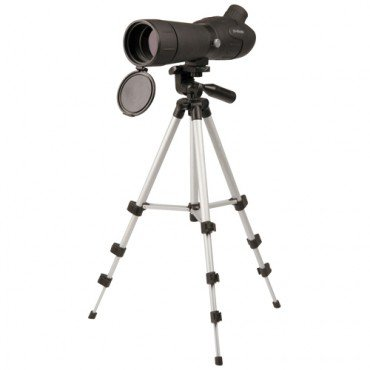 20-60 x 60mm Spotting Scope with Tripod, Adjustable Sun Shade and Nylon Carrying Case from GORDON