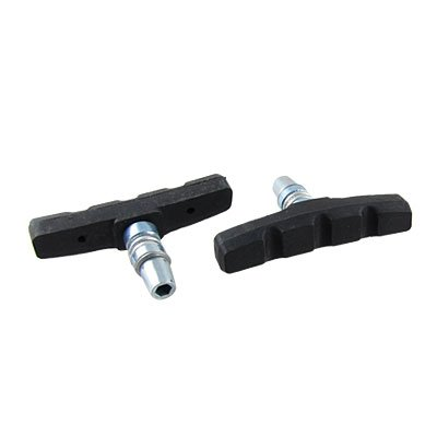 Buy Low Price Como Mountain Bicycle Black Road Bike Rubber Brake Pads Pair (sourcingmap)