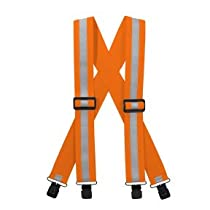Suspenders (Neon Orange)