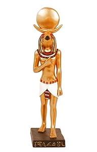 """Egyptian Horus Statue 7 3/4"""" Tall"""