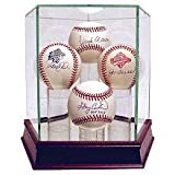 Steiner Sports Glass Quad Baseball Case