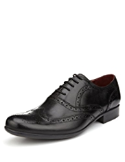 Autograph Leather Lace Up Oxford Brogue Shoes
