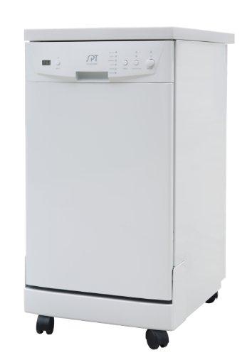 SPT SD-9241W Energy Star Portable Dishwasher, 18-Inch, White