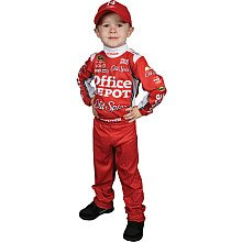[Trevco Tony Stewart Costume Kids (4-10) - Tony Stewart Large (8-10)] (Nascar Tony Stewart Costumes)