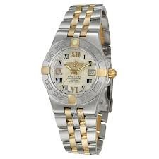 Breitling Windrider Galactic Mother of Pearl Dial Mens Watch B7134012-A688TT