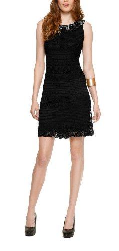 Schwarzes Spitzenkleid: traumhafte Mode mit schwarzer Spitze