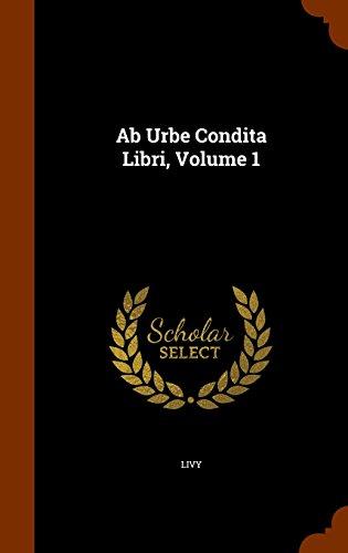 Ab Urbe Condita Libri, Volume 1