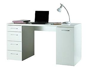 Scrivania ufficio studio anta e cassettiera laterale - Emporio del mobile in kit ...