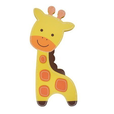 Koala Baby Giraffe Wood Wall Decor - 1