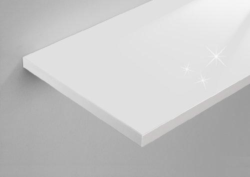 Bild regalwelt 9003 sl wsm wandregal slim livingboard 30 x 25 x 1 9