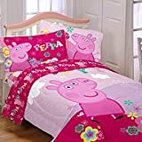 Entertainment One Peppa Pig Tweet Tweet Oink Microfiber Comforter, Twin