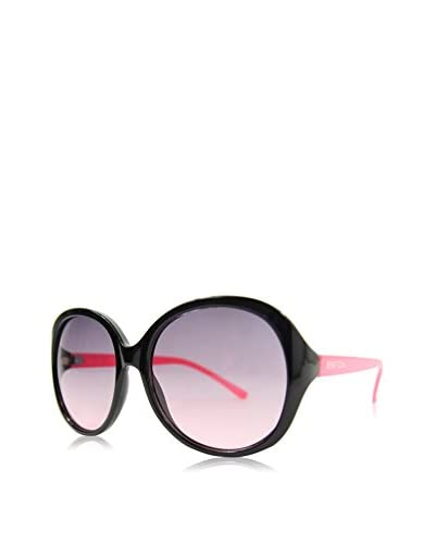 BENETTON Gafas de Sol 984S-01 (56 mm) Negro / Rosa