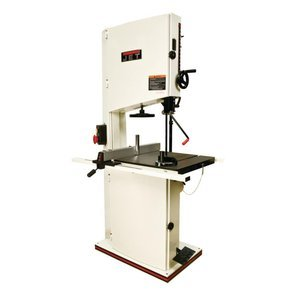 Jet Jwbs-20Qt-5 20-Inch 5Hp 1Ph 230-Volt Wood Band Saw With Quick Tensioning Lever