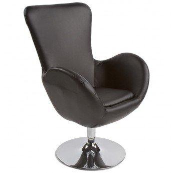 Fauteuil design PRINCE Noir