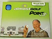 Almost Point3 10 Golf Balls (BLUE) Restricted Flight Practice Balls NEW