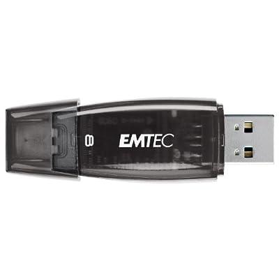 EMTEC C400 Candy II Series 8 GB USB 2.0 Flash Drive, Black