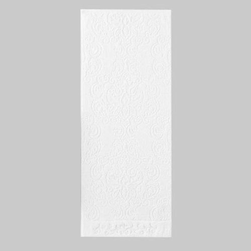 御白金浴巾 タオル 華月(かげつ) バスタオル(約70×140cm) W・ホワイト 24-1163100
