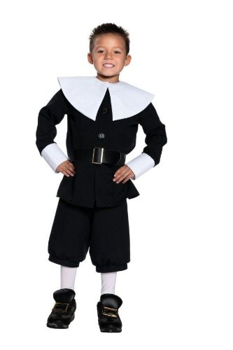 Costumes For All Occasions Ur26946Lg Pilgrim Boy Large