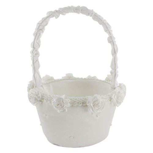 WILTON IVORY SM FLOWER BASKET 120-084