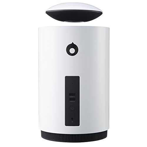 Mars by Crazybaby - World's Only Auto Levitating Speaker with Subwoofer, White