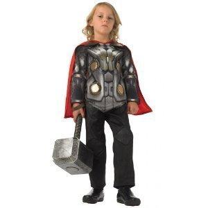 Deluxe Costume da Bambino, Avengers, Thor, 3/4 Anni