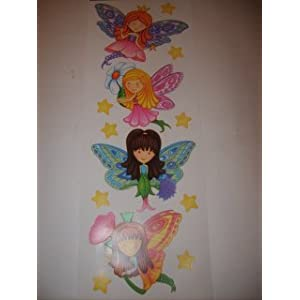 Seattle Home Additions Main Street Wall Creations Jumbo Stickers Fairies