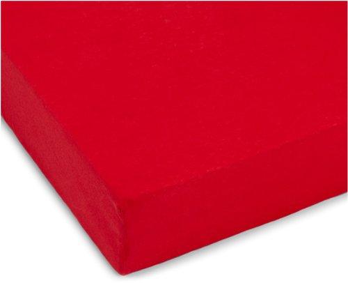 Julius-Zllner-8320147750-Spannbetttuch-Jersery-fr-Kinderbett-Gre-60-x-120-cm70-x-140-cm-Farbe-rot