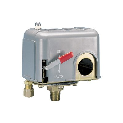 Air Pressure Switch With On/Off Switch For Single-Stage And Dual-Stage Air Co...
