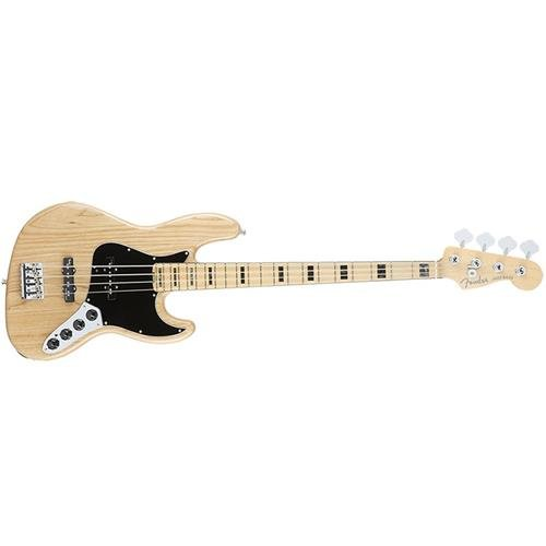 Fender American Elite  Jazz Bass, Ash  - Natural (American Fender Jazz Bass compare prices)