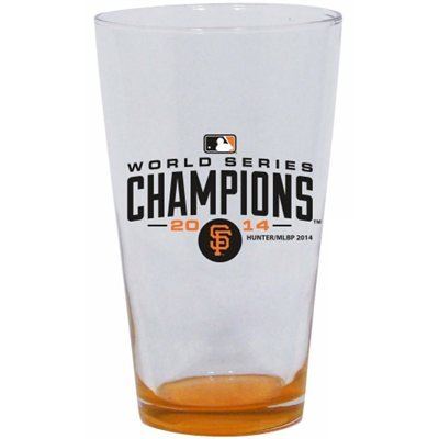 2014 World Series Champions san francisco giants MLB Baseball 17 Oz Highlight Mixing Glass