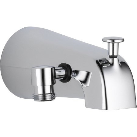 Review Of Delta Faucet U1072-PK Universal Showering Components Diverter Tub Spout, Chrome