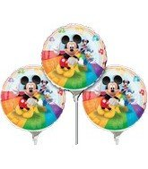 9 Inch Mickey Mouse EZ Air Fill Balloons - 3 Count