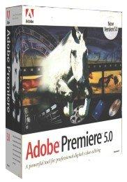 Adobe Premiere 5.1 for Mac
