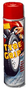 Bare Ground Tire Grip Spray Can
