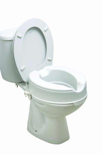Drive Medical 12066 - Rialzo per WC da 15 cm, senza coperchio