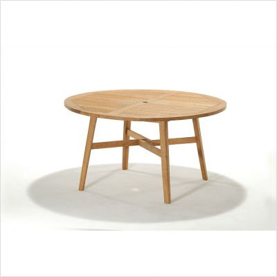 Padang Teak Round Dining Table