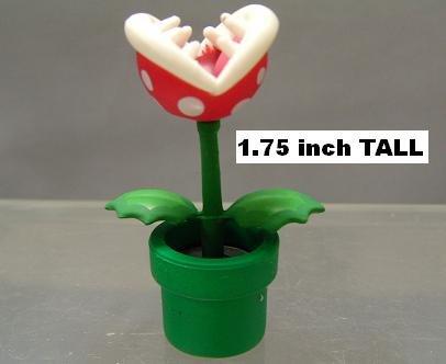 Furuta Super Mario Pirahna Plant Mini Figure