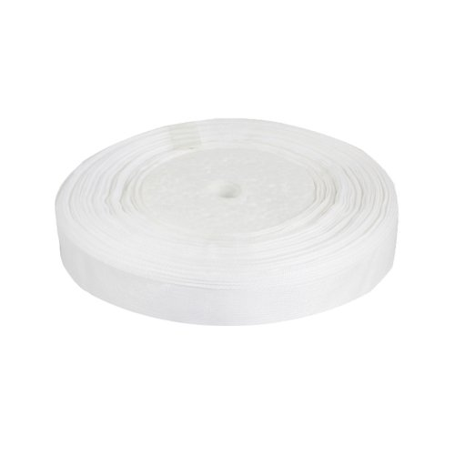 OurWarm White 3/8&#8243; (9mm) Sheer Organza Ribbon for Birthday Party/Craft/Wedding Favors Scrapbooking Decor 50yard(150FT)