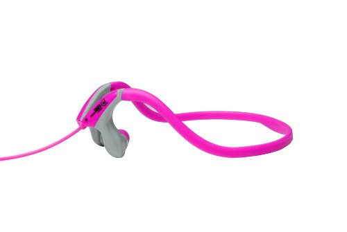 Urbanz Sportz Running Sports Gym Neckband Headphones (Pink)