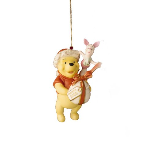 Lenox 2008 Pooh's Perfect Present Ornament