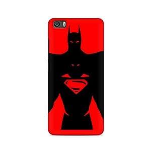 Ebby Superman within Batman Premium Printed Case For Xiaomi Redmi Mi4i