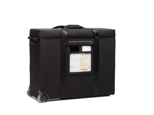 Tenba Transport Computer Equipment Air Case for 27-Inch Apple iMac with Wheels 634-725 - Black