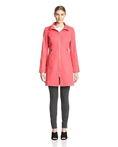 Via Spiga Women's Long Zip Coat