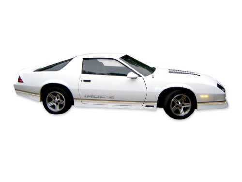 1988 1989 1990 Chevrolet IROC-Z Camaro Decals & Stripes Kit - SILVER (3rd Generation Camaro Accessories compare prices)
