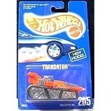 Hot Wheels Treadator 205 Blue Card 1991
