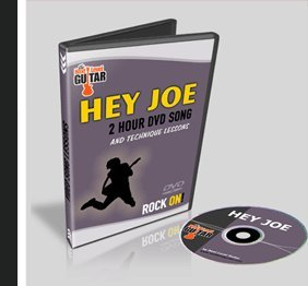 Hey Joe in the Style of Jimi Hendrix 2 Hour DVD Lesson Next Level Guitar