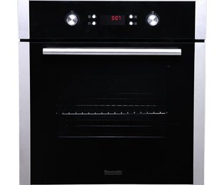 Baumatic B630MC Built In Electric Single Oven - Stainless Steel. It Will Perfeclty Look Great Built Into Your Kitchen