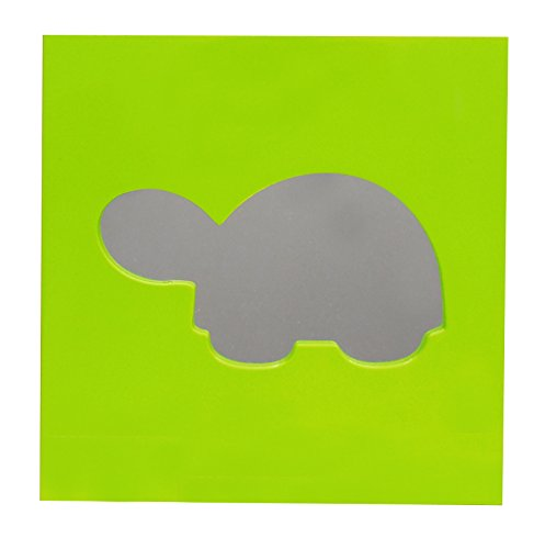 Wall Art Mirror in Turtle Design - 1