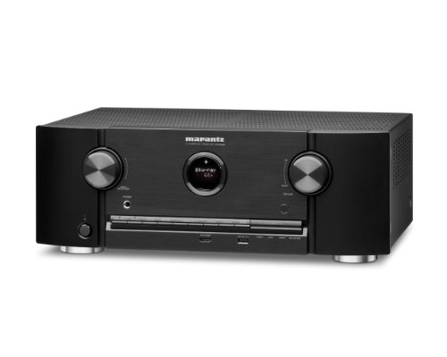 Marantz SR5008 7.2-Channel 1080P and 4K Ultra HD Pass Through, Networking Home Theater Receiver with AirPlay (Black)